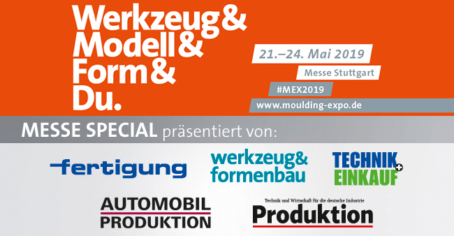 Moulding Expo Messe Special 2019 Header