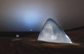 Nasa Mars Ice House
