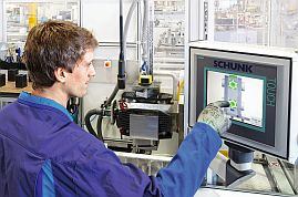 Schunk Touch Screen